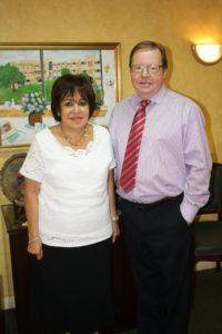 Mrs. Soumaya Amr and Mr. Colin Rogers
